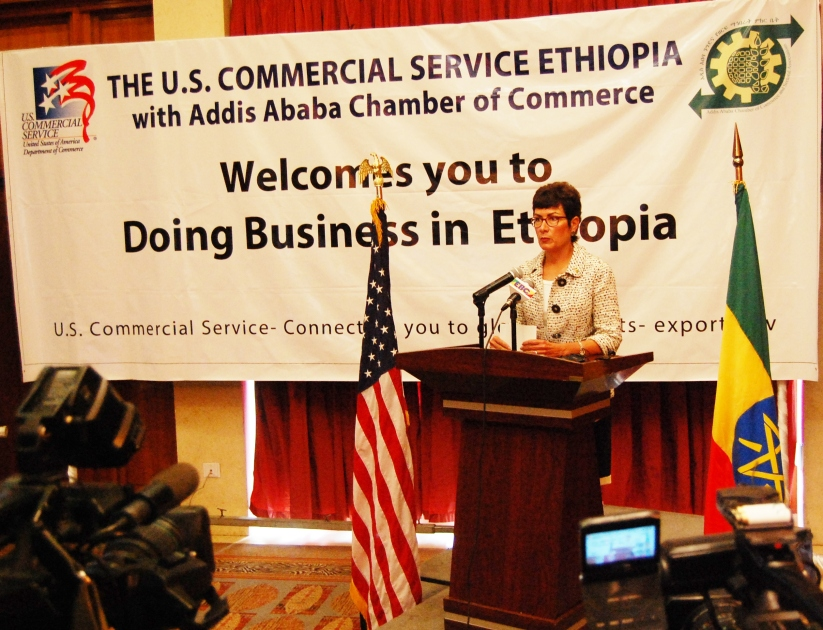 U.S Ambassador to Ethiopia Patricia Haslach says Ethiopia is a leader in economic development in Africa