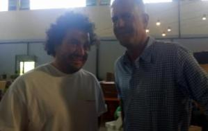 English Language Fellow Matthew Jellick met the celebrity chef in Addis Ababa.
